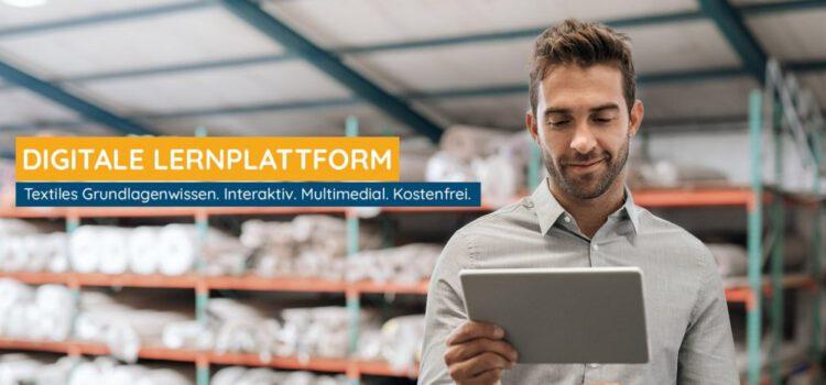 Online-Lernplattform für die Textilbranche
