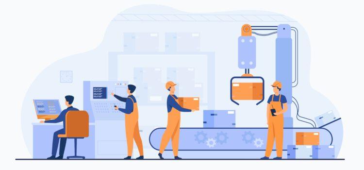 Lager Logistik Produktion